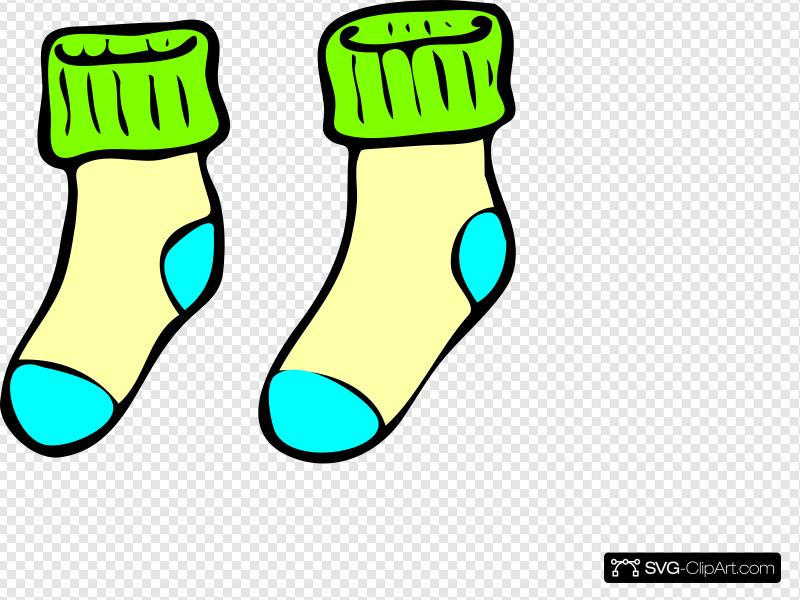 Socks Clip art, Icon and SVG.