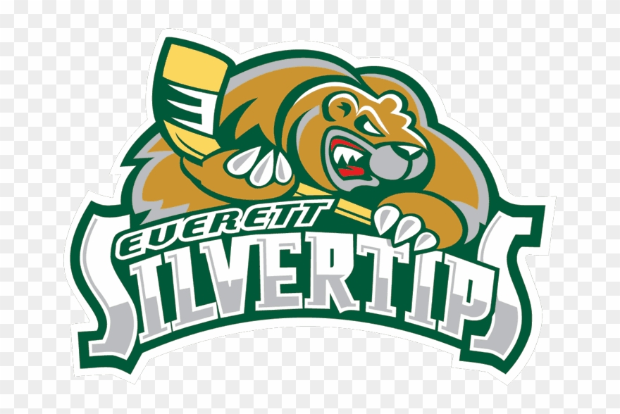Everett Silvertips Logo Clipart (#1312989).