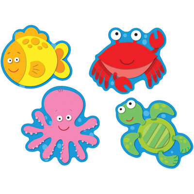 Sea Animals Clipart.