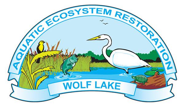 Wolf Lake Aquatic Ecosystem Restoration Logo on Behance.