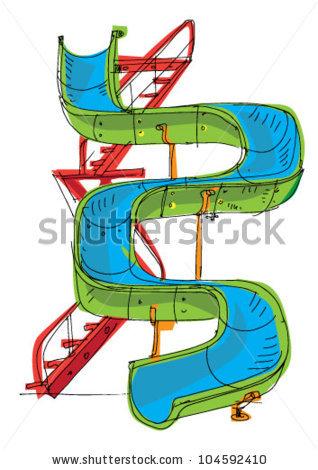 Waterpark Stock Vectors, Images & Vector Art.