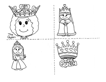 The Queen Clipart.