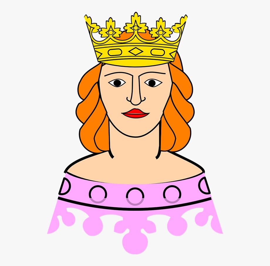 Cute Queen Clipart.