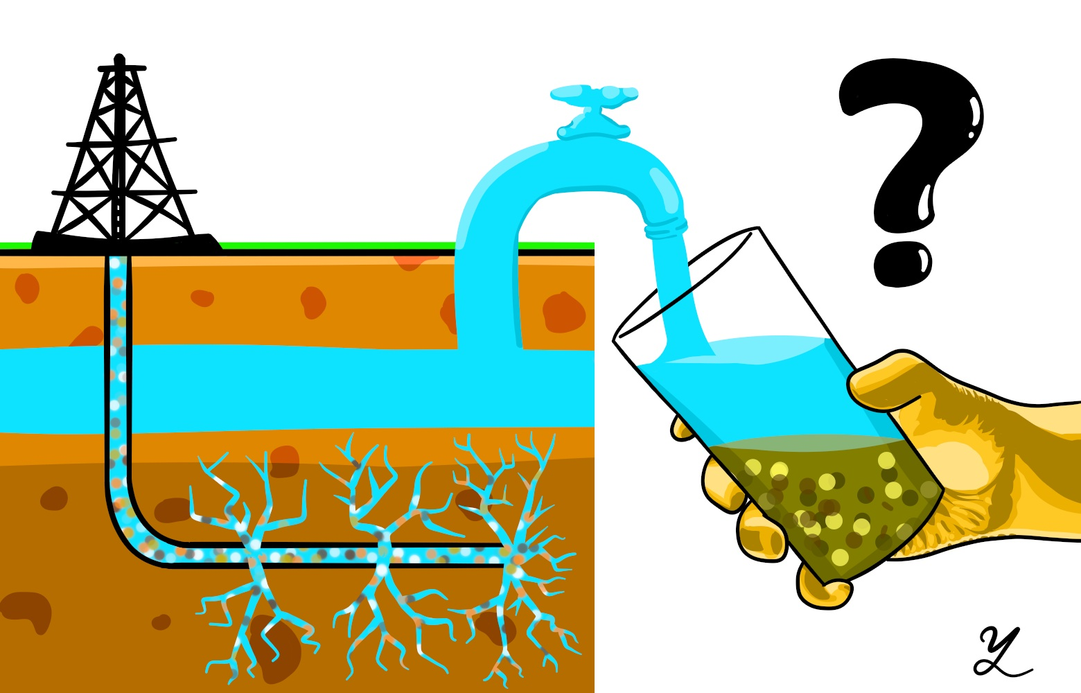 Groundwater Clipart.
