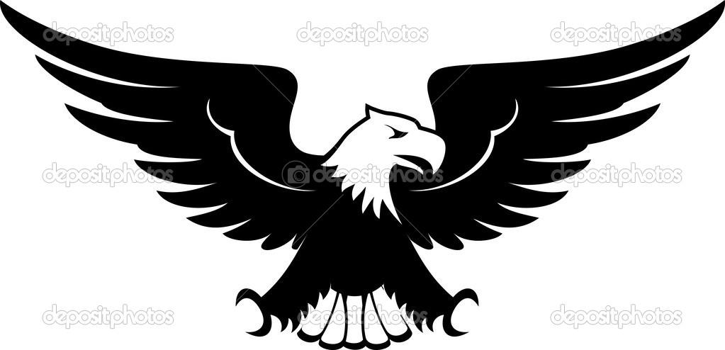 Aquila clipart design — Vettoriali Stock © hayaship #27597829.