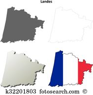 Aquitaine shoreline Clipart Vector Graphics. 4 aquitaine shoreline.