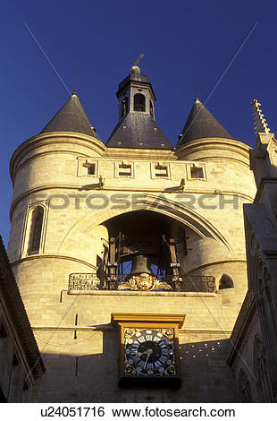 Stock Images of France, Bordeaux, Gironde, Europe, Aquitaine, City.