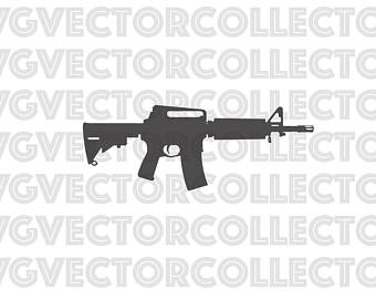 Rifles clipart rifle ar15 for free download and use images in.