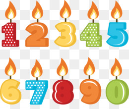 Candles clipart.