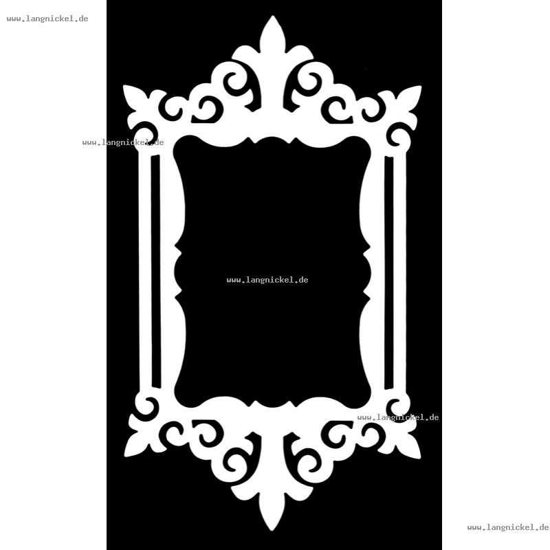 Logo Picture Frames Brand Baroque Font.