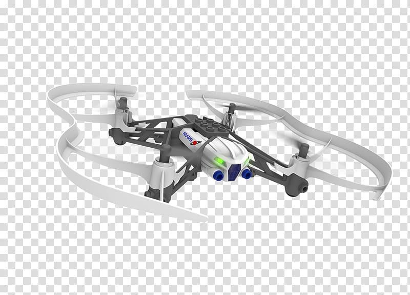 Unmanned aerial vehicle Parrot AR.Drone Miniature UAV Parrot.