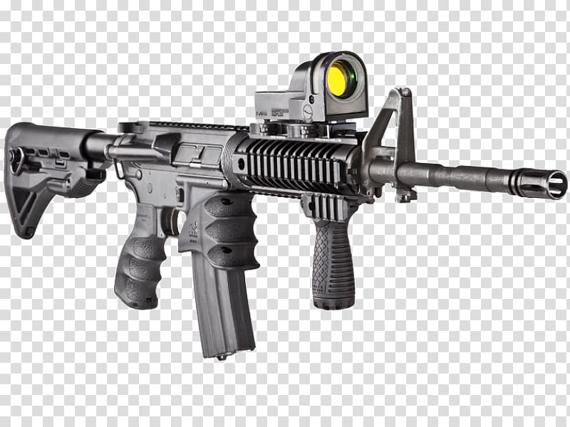 M4 carbine Vertical forward grip AR.