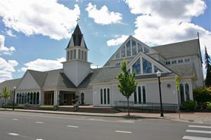 St. Mary\'s Roman Catholic Church in Albany, Oregon.
