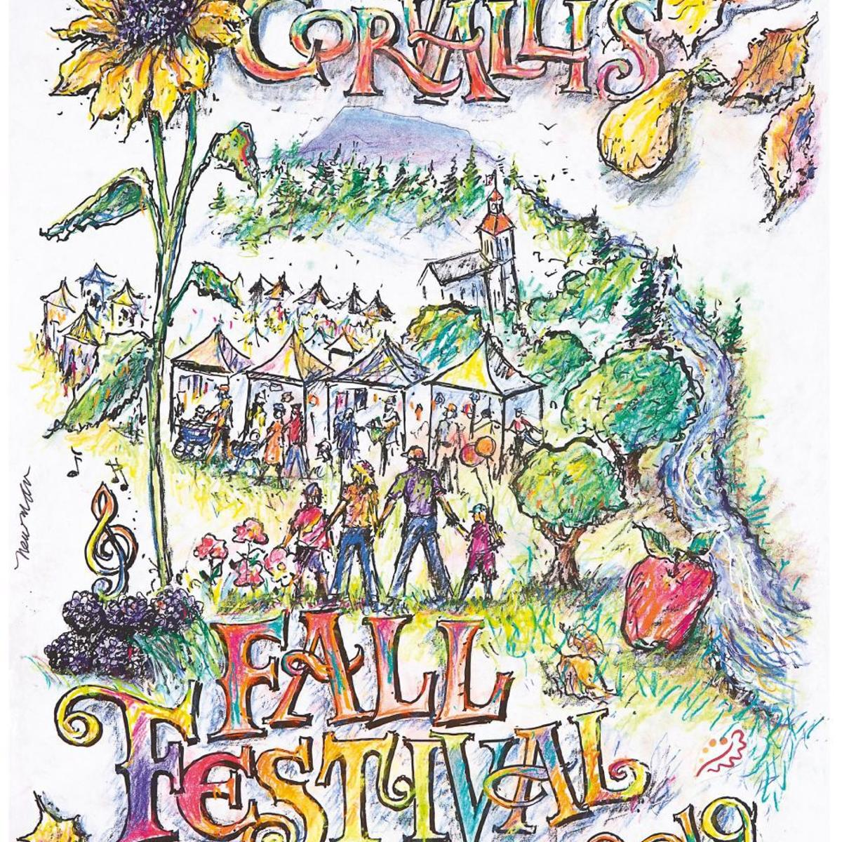 Corvallis Fall Festival: Newman\'s work captures colors.