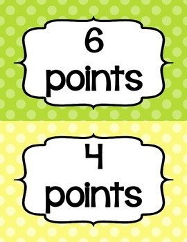 Accelerated Reader (AR) Points Club Clip Chart (every 2 points).