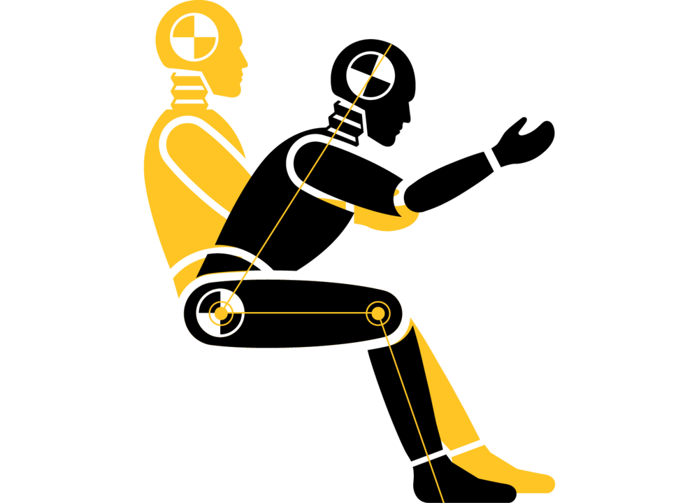 Stock illustration Vector graphics Crash test dummy Image.