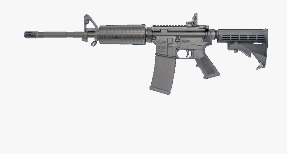 Colt Ar 15 Png Image With No Background.