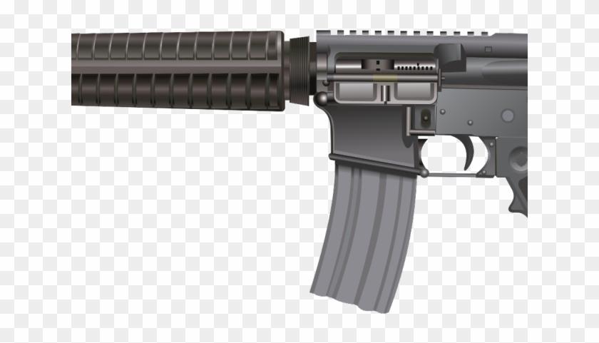 Machine Gun Clipart Ar15.