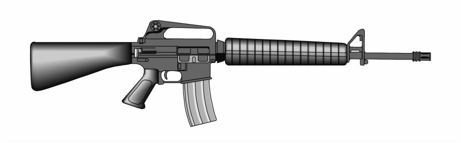 Gun Clipart Ar15.