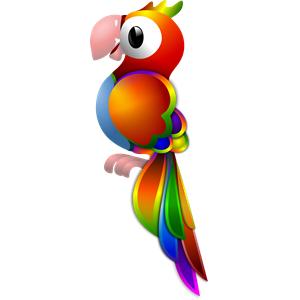 Parrot Remix clipart, cliparts of Parrot Remix free download.