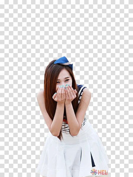 Yoo Ara Hello Venus transparent background PNG clipart.
