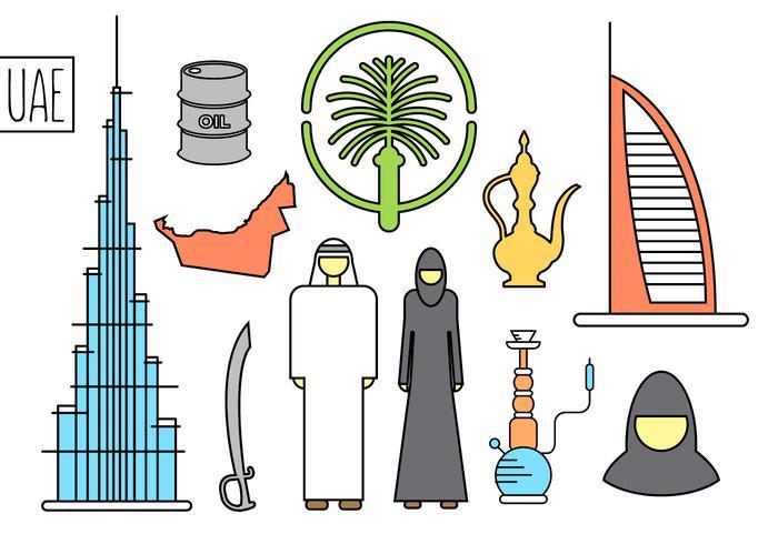 United Arab Emirates Free Vectors.