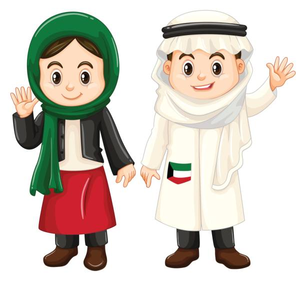 Best Arab Boy Illustrations, Royalty.