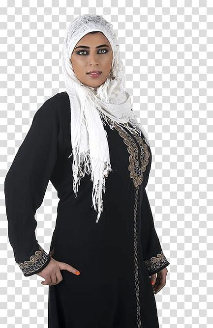 Costume Neck Black M, Traditional Arab transparent.