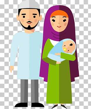 72 arab Family PNG cliparts for free download.