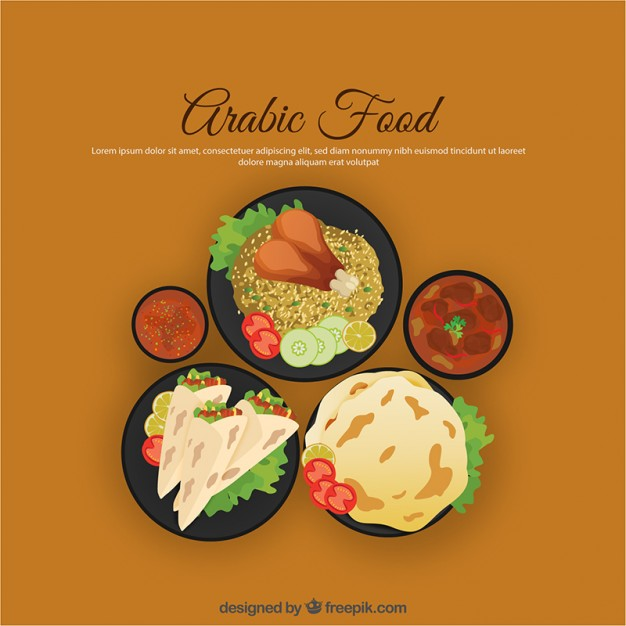 Arabic Food Vectors, Photos and PSD files.