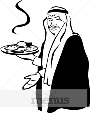 Middle East Food Clipart.