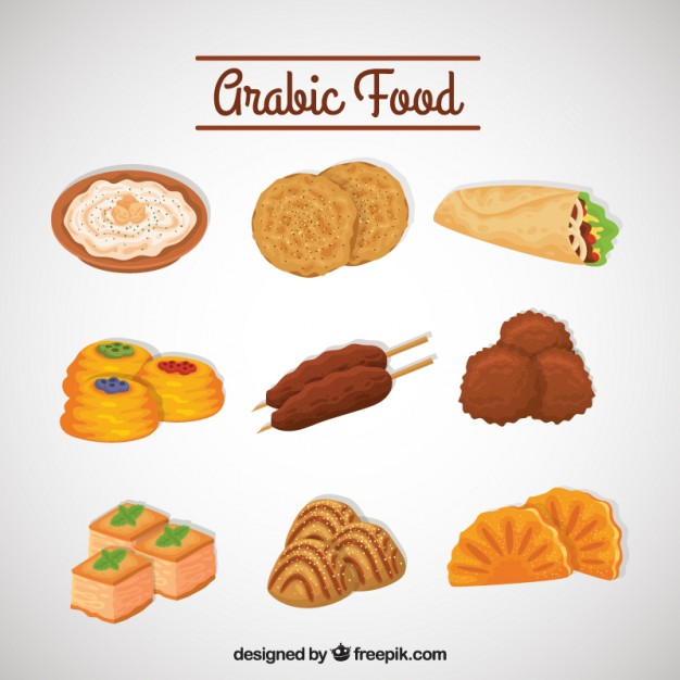 Arab food clipart #7