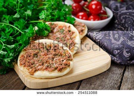 """arab Pizza"" Stock Photos, Royalty."