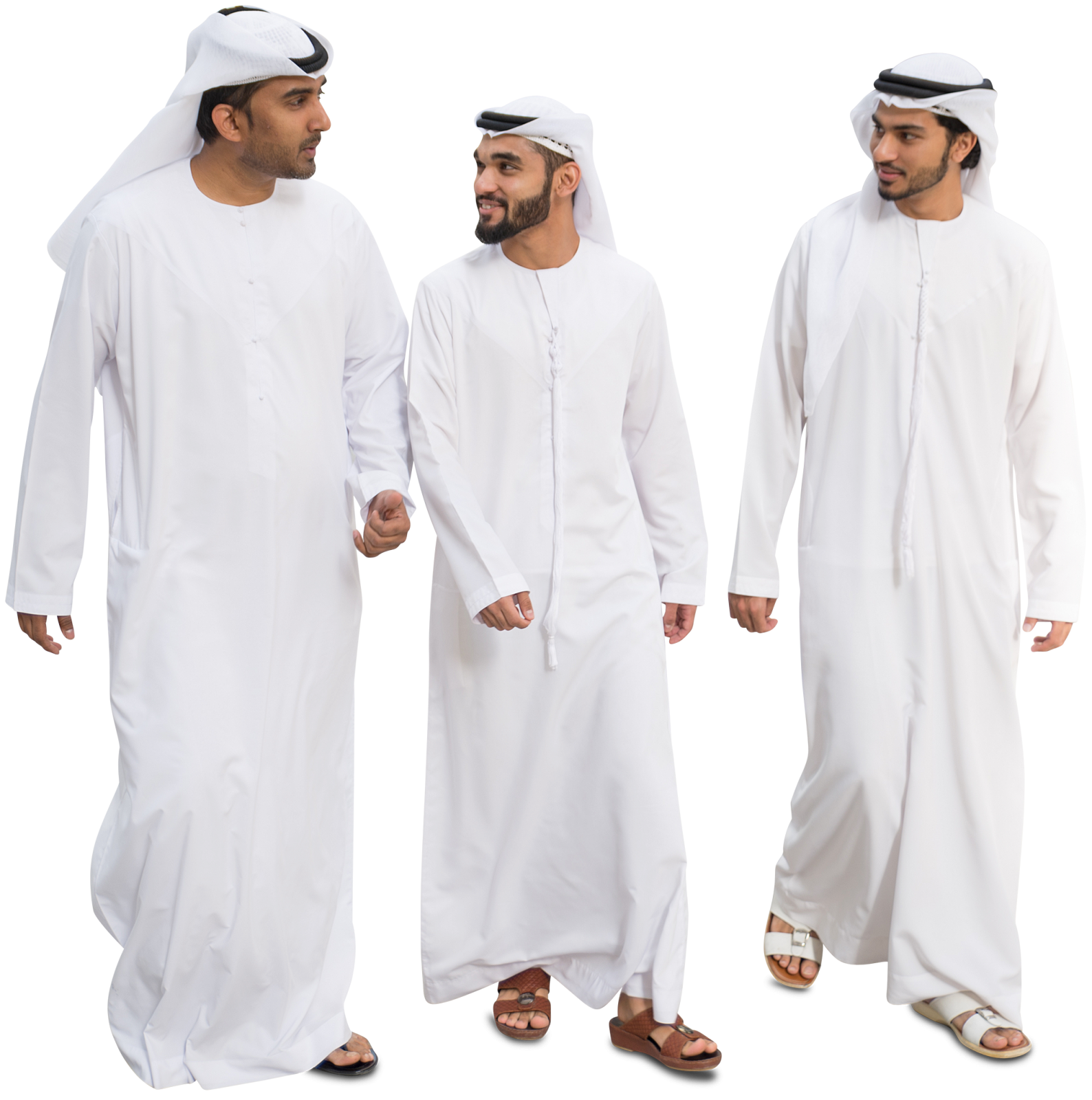 MrCutout Group of Arab Men #mrcutout #styleinspiration #archilovers.
