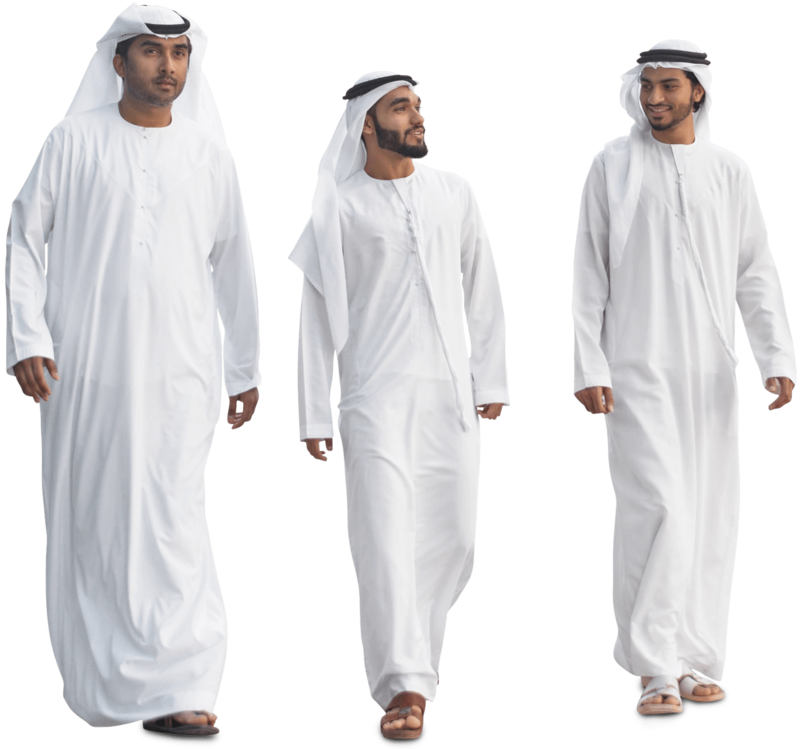 Download Free png arab man group.