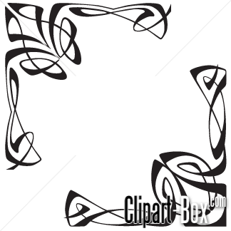 Clipart arabesque.