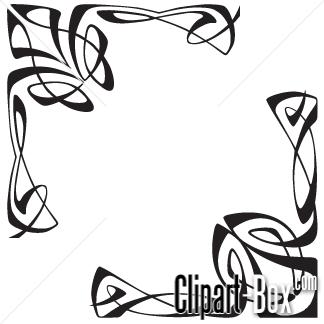 Clipart arabesque.