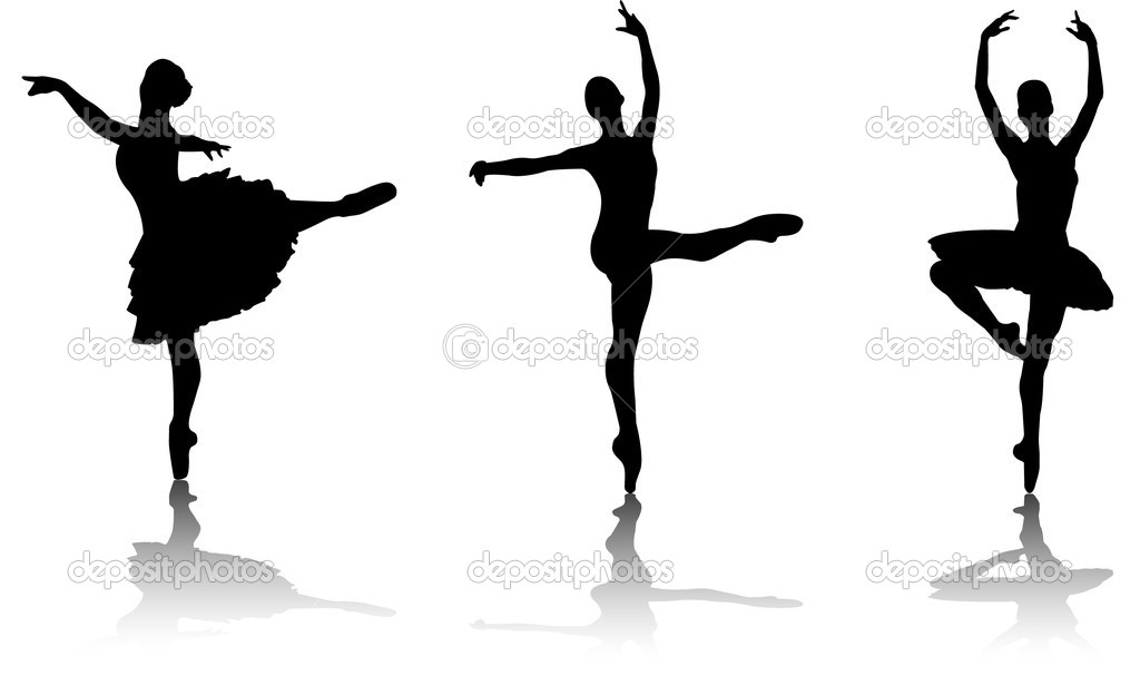 Free Dancer Silhouette Arabesque, Download Free Clip Art.