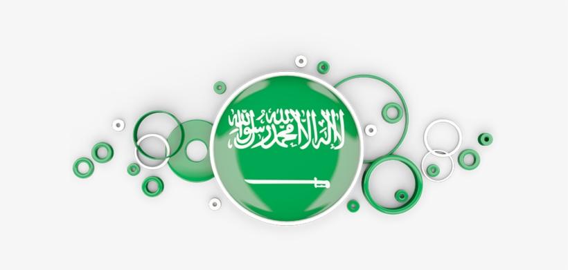 Illustration Of Flag Of Saudi Arabia.