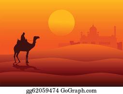 Arabian Desert Clip Art.