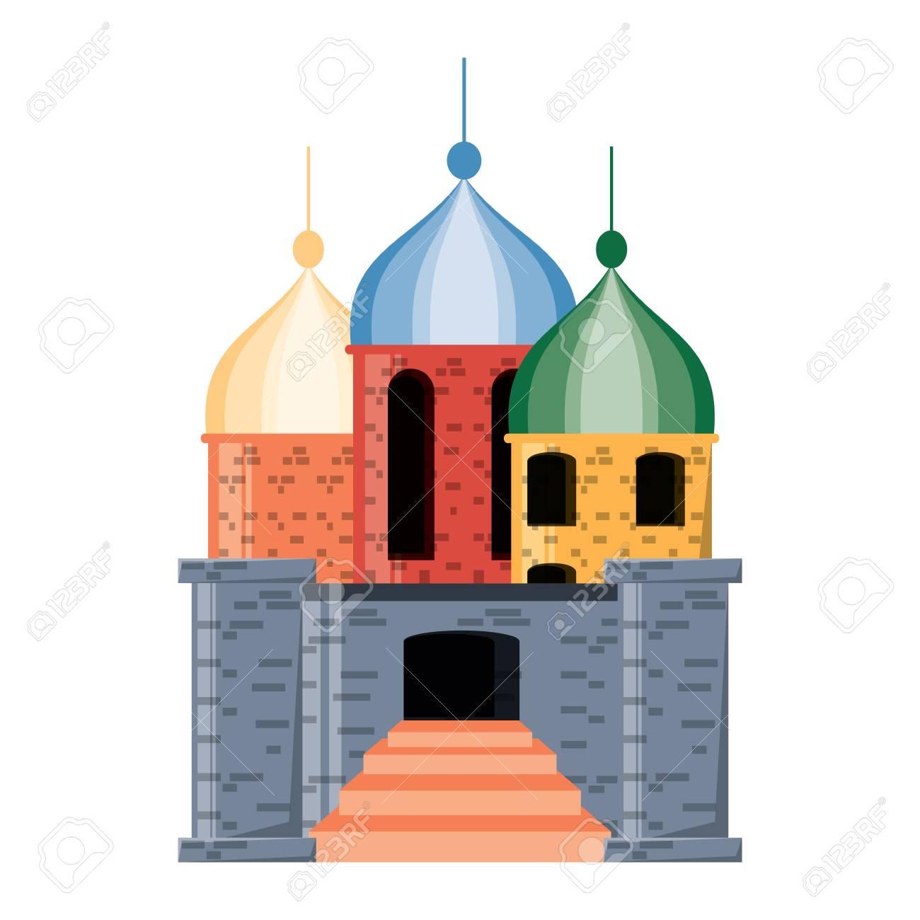 Arabian Castle Clipart.