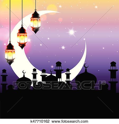 Arabian night Clipart.