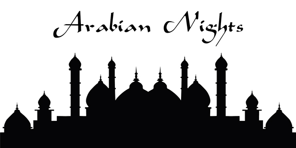 Arabian Nights on Pantone Canvas Gallery.