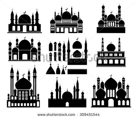 arabian nights silhouette free clipart.