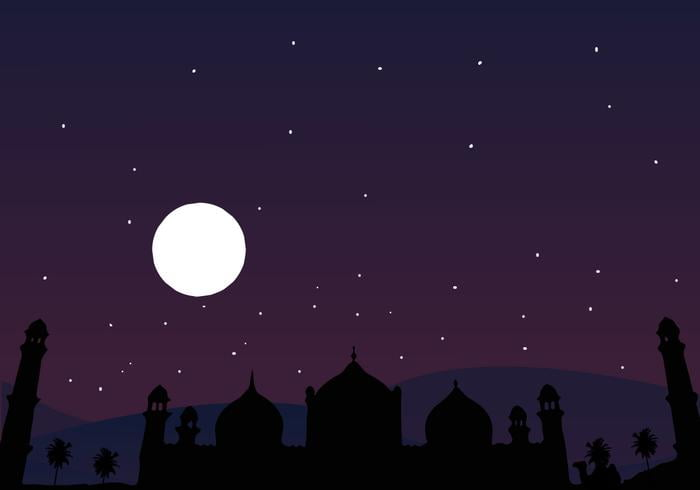 Arabian Night Vector ai file.