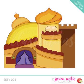 Arabian Palace Clip Art.