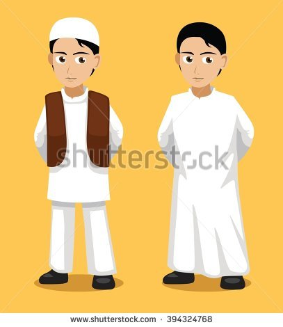 Arabic Clothes Stock Photos, Royalty.