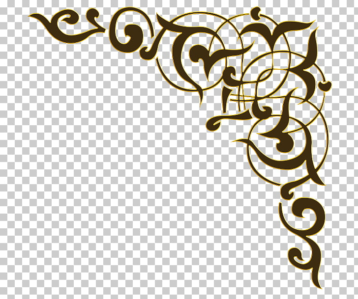 Arabic calligraphy Script typeface, design PNG clipart.