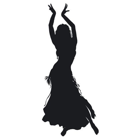 belly dance clip art.