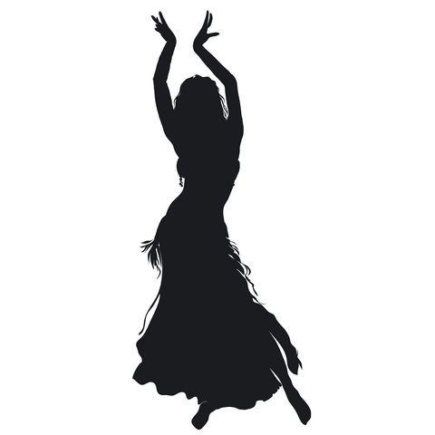 belly dance clip art.